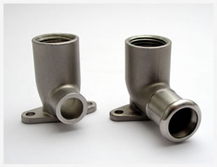 3 - Gomiti con sistema press-fittings microfusi (fusione in cera persa)